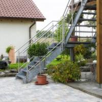 Blick auf das Gästehaus Friedrichshof / Südliche Weinstraße